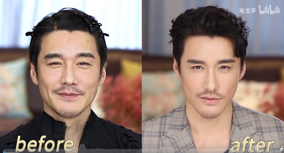 """50+的中国首席男模居然被说像个""""古董""""?!网友"""