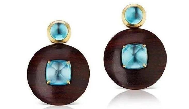 华丽的宝石,换上平凡无奇的木质材质,打造出梦幻华