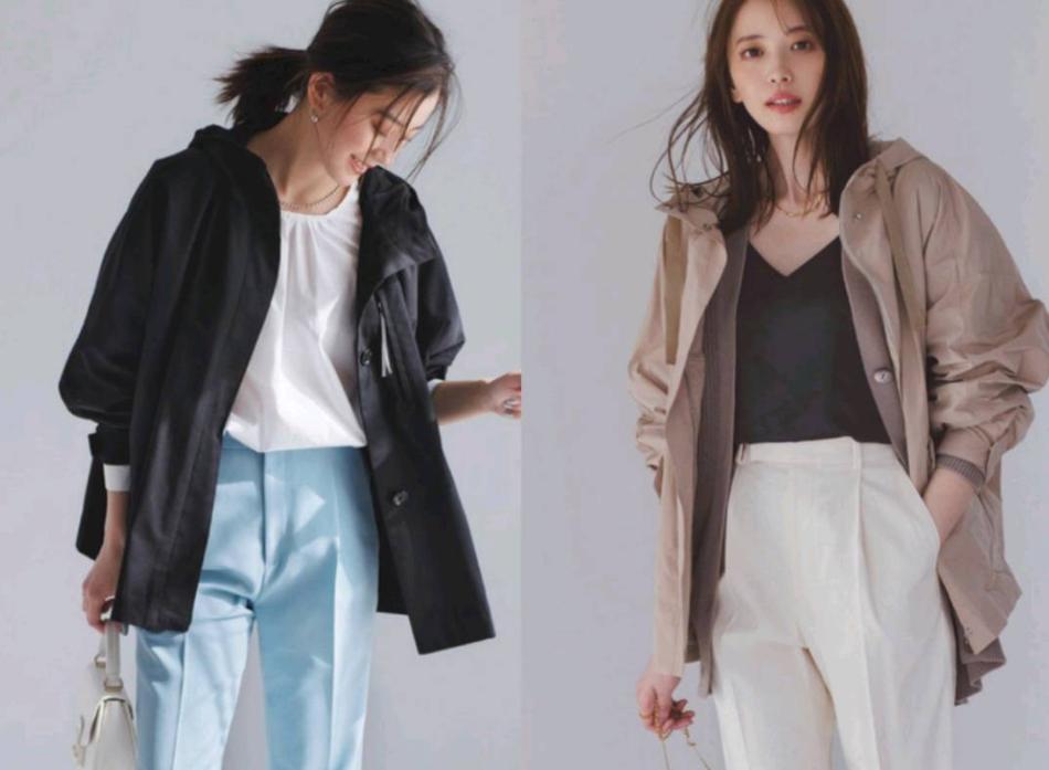 """秋天的""""风衣""""外套,轻松随性又很时尚"""